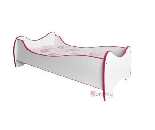 Кровать детская DUO / Розовый