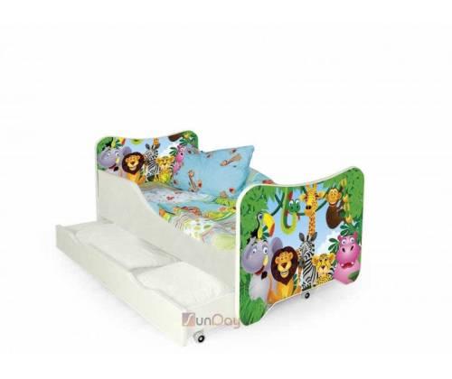 Кровать детская HAPPY JUNGLE