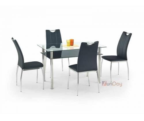 Стол обеденный LESTER 120 / Черный