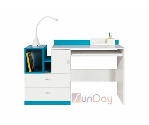 Стол письменный Моби BIU/130 (цветной)