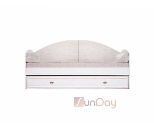 Кровать с ящиком Салерно LOZ/80 (светло-бежевая)