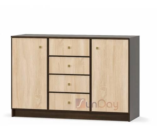 Комод 2Д4Ш Фантазия New Мебель Сервис