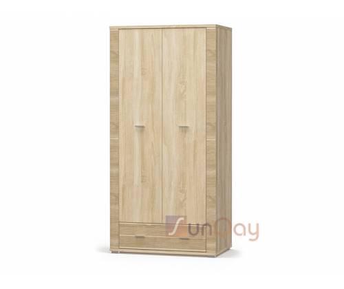 Шкаф 2Д+1Ш Гресс Мебель Сервис