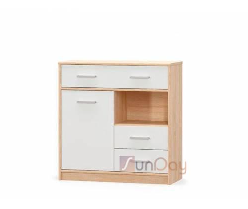 Комод Типс 1Д3Ш Мебель Сервис