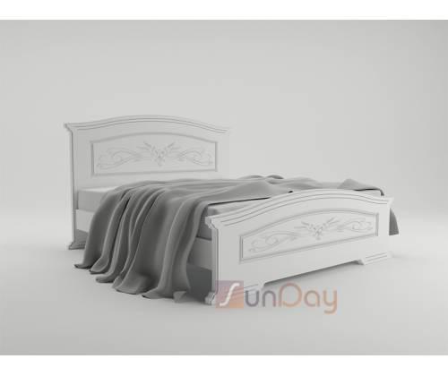 Кровать Инесса с газовыми подъемниками и металлическим каркасом 140/160/180