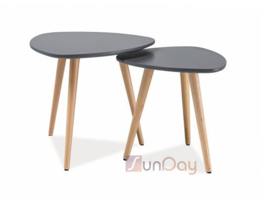 фото 2  Комплект из 2 столов Nolan А