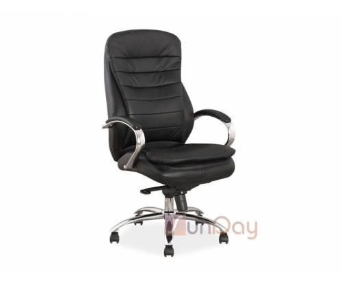 Кресло офисное Q-154 (натуральная кожа)