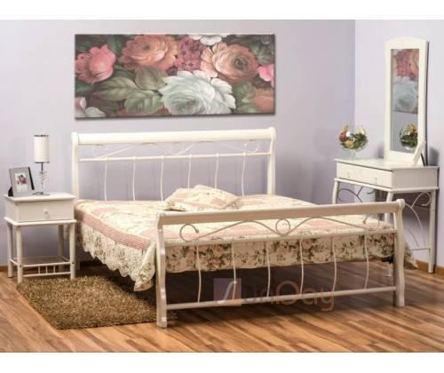 Кровать Venecja (белый) 120/160