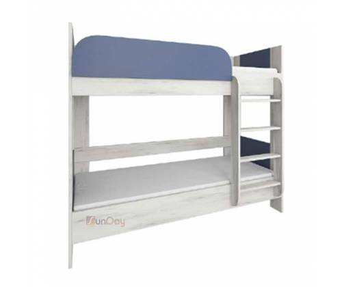 Кровать двухъярусная детской Домино