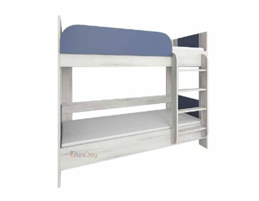 фото Кровать двухъярусная детской Домино