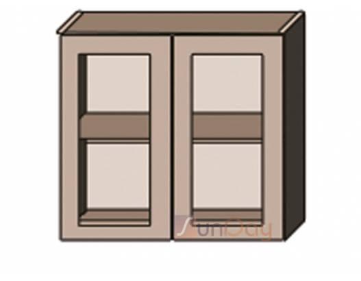 фото Классика шпон (патина) 100 верх витрина