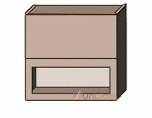 фото Классика шпон (патина) 80 верх витрина м