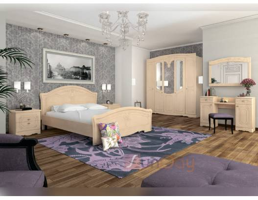 фото 3 Кровать 160 спальни Николь