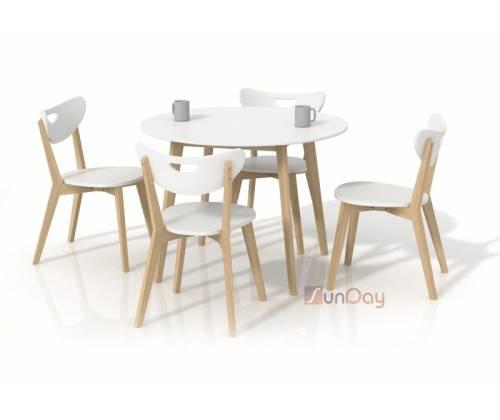 Стол обеденный PEPITA / Белый