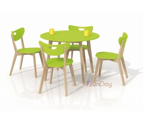 Стол обеденный PEPITA / Салатовый