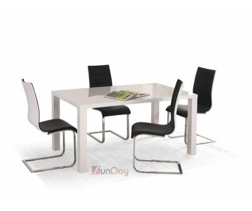 Стол обеденный RONALD 160/90 / Белый