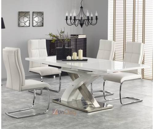 Стол обеденный SANDOR 2 / Белый