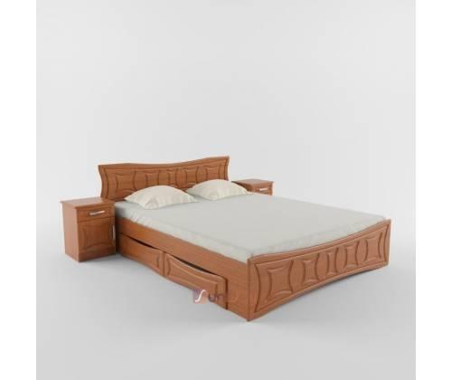 Двухспальная кровать без ящиков Созвездие